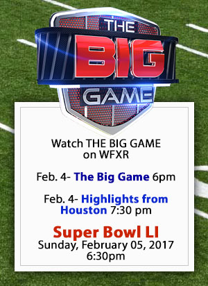 Watch the Super Bowl LI on WFXR