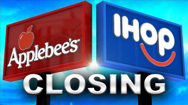 Up to 160 restaurants are closing