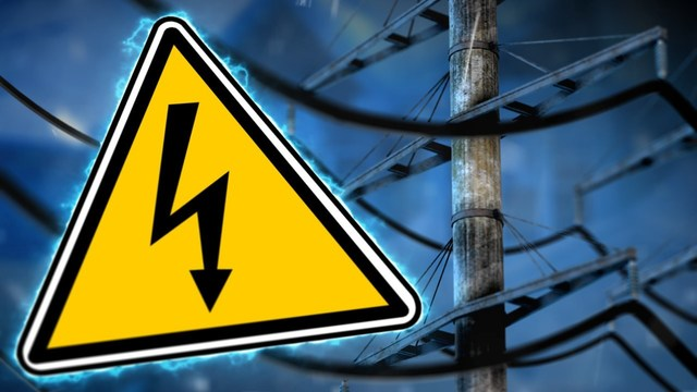 Strong winds cause power outages and road closures