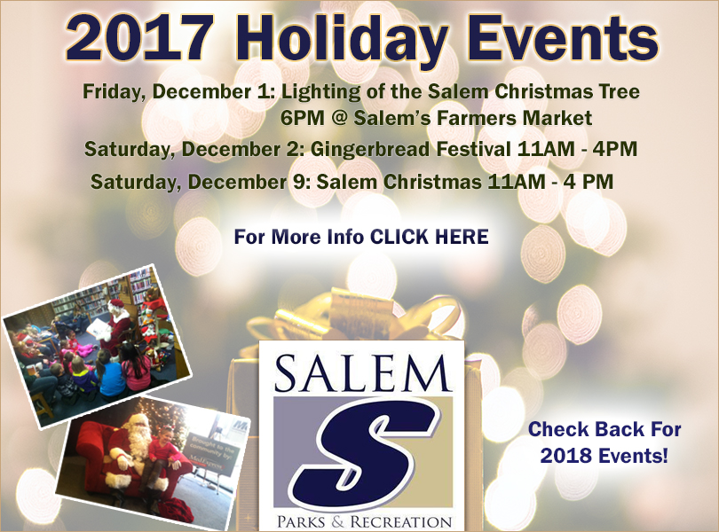 Salem Events list