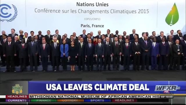 Mixed Reaction To Us Exit Of Paris Climate Agreement