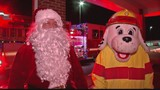 Santa makes an early pit stop in Botetourt County