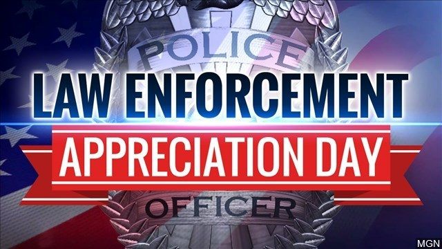 Businesses offer 'Law Enforcement Appreciation Day' perks