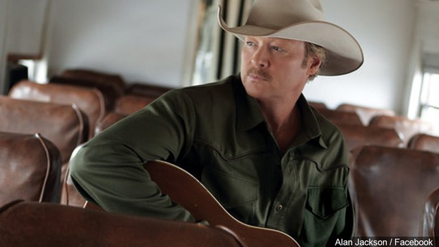 County superstar Alan Jackson coming to the Berglund Center in May