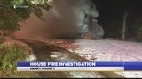 Short family home catches fire overnight