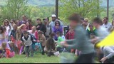Annual Easter egg hunt draws big crowd at local church